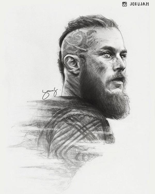 Ragnar Lothbrok by iamjoanna