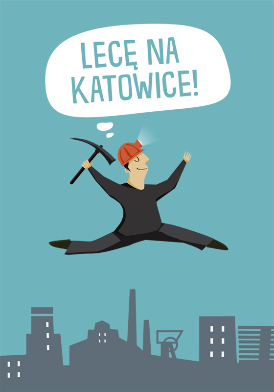 Lece na Katowice by Bziulka