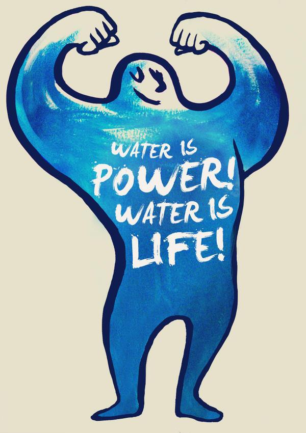 Water is power by Bziulka