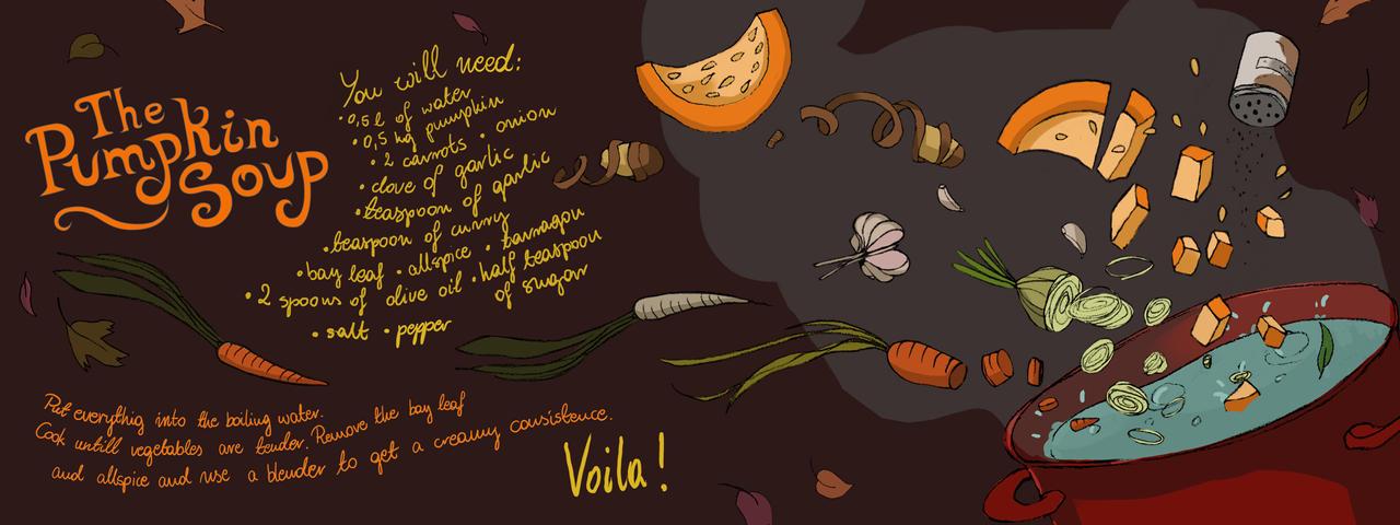 The Pumpkin Soup by Bziulka