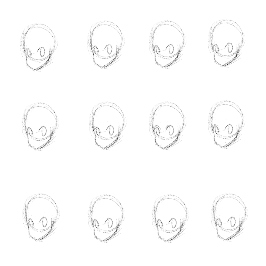 Blank Head Template By Whale Chan On Deviantart