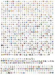 All Pokemon by Aouli95