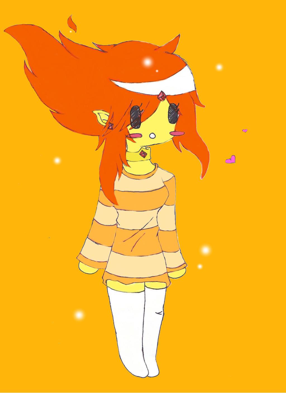Chibi flame princess by loveMadrigal