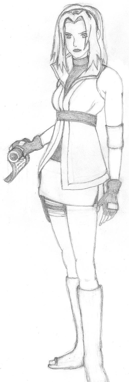 Sakura Haruno by Firewing2266