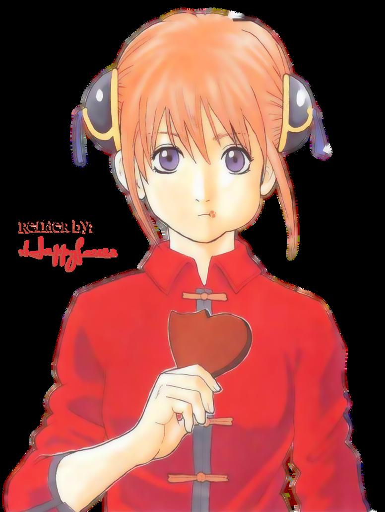 Kagura valentine render by xHappyLover on DeviantArt