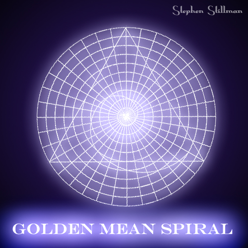Golden Mean Spiral, Fibonacci by TetraChromaticArt on ...