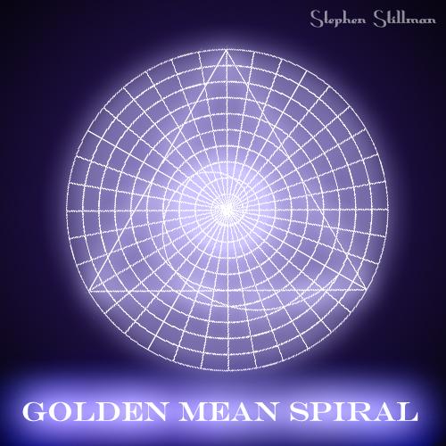 Golden Mean Spiral, Fibonacci by TetraChromaticArt on ...