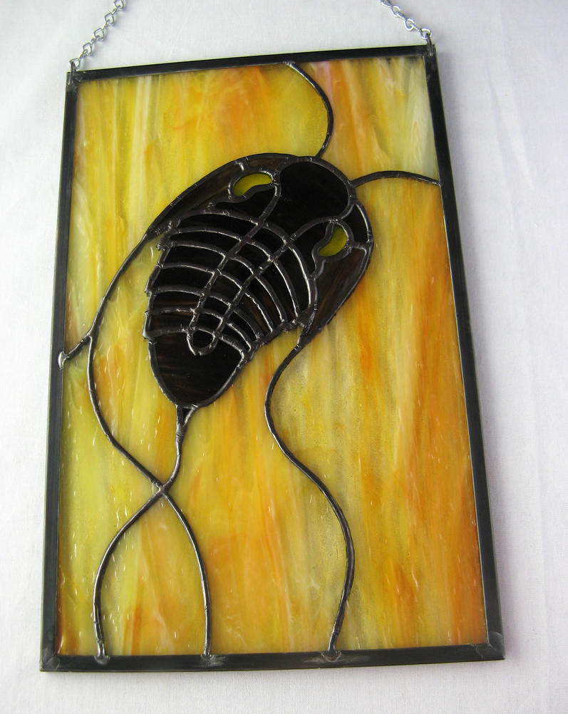 Trilobite Panel by trilobiteglassworks