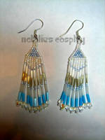 'Ice Princess' Earrings by Natalie526