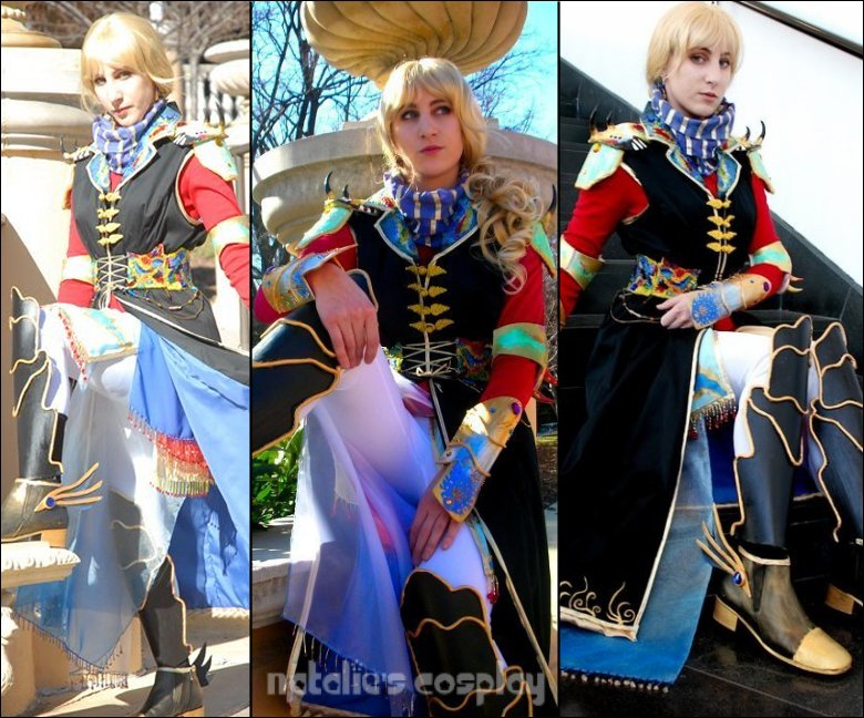 Faris Cosplay Collage