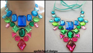 Berry Rainbow Necklace by Natalie526