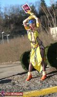 Lady Luck Rikku:Full body shot by Natalie526