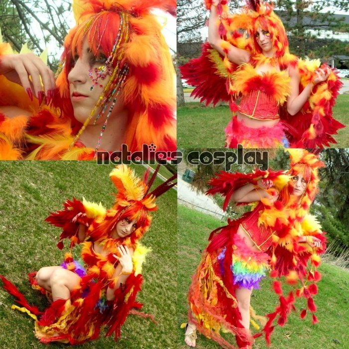 Mythological Phoenix Costume by Natalie526