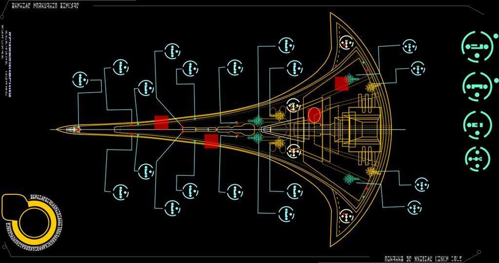 Stargate Destiny weapon system by tomperys