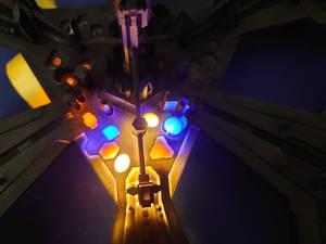 Stargate Atlantis city - test of the electronics