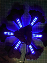 Stargate Atlantis city - engines lighting test