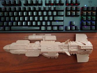 Stargate Aurora model