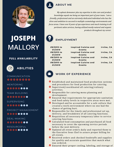 Laredo Core Functional Resume Layout By Templicate By Templicate