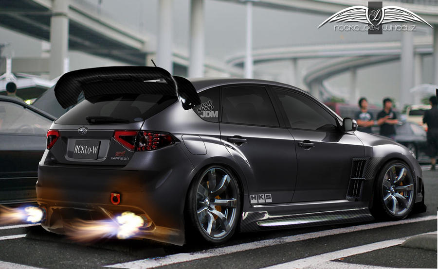 2012 subaru impreza wrx sti hatch by rockology666 on deviantart. Black Bedroom Furniture Sets. Home Design Ideas