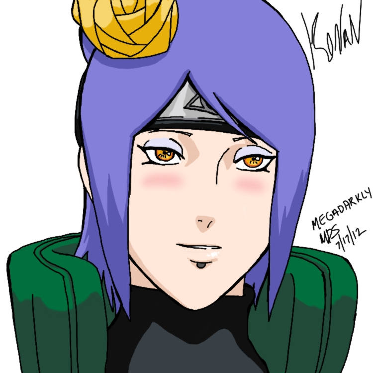 Konan Leaf Jounin by MegaDarkly on DeviantArt