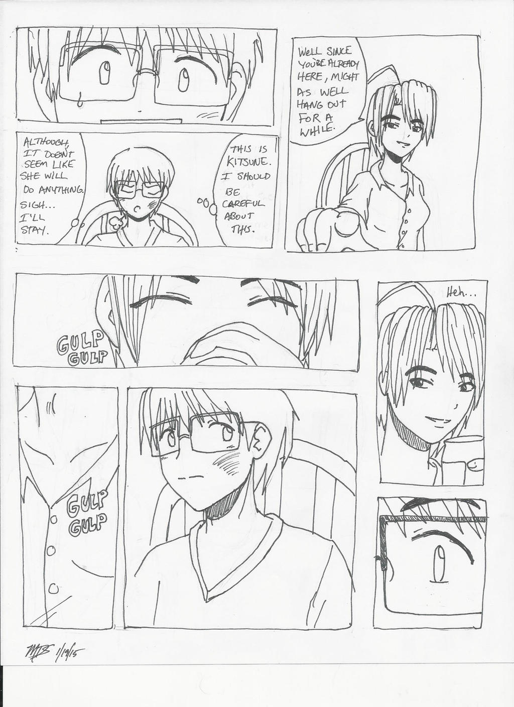 Love Hina: Stubborn Kind of Fellow Ch1pg2 by MegaDarkly