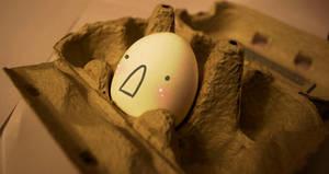 Sad egg. by Furryness
