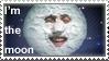 I'm the moon - stamp by SleepyVoodleStudio
