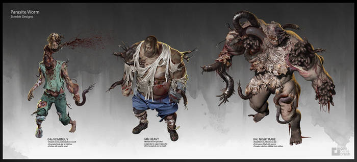 Deadline Parasite Zombies