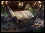Scroll of the Masters by demonui