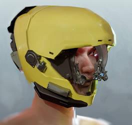 Helmet Practice by demonui