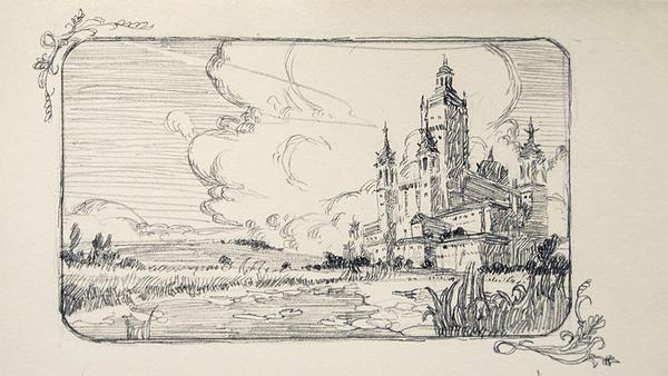 Castle Vignette by demonui