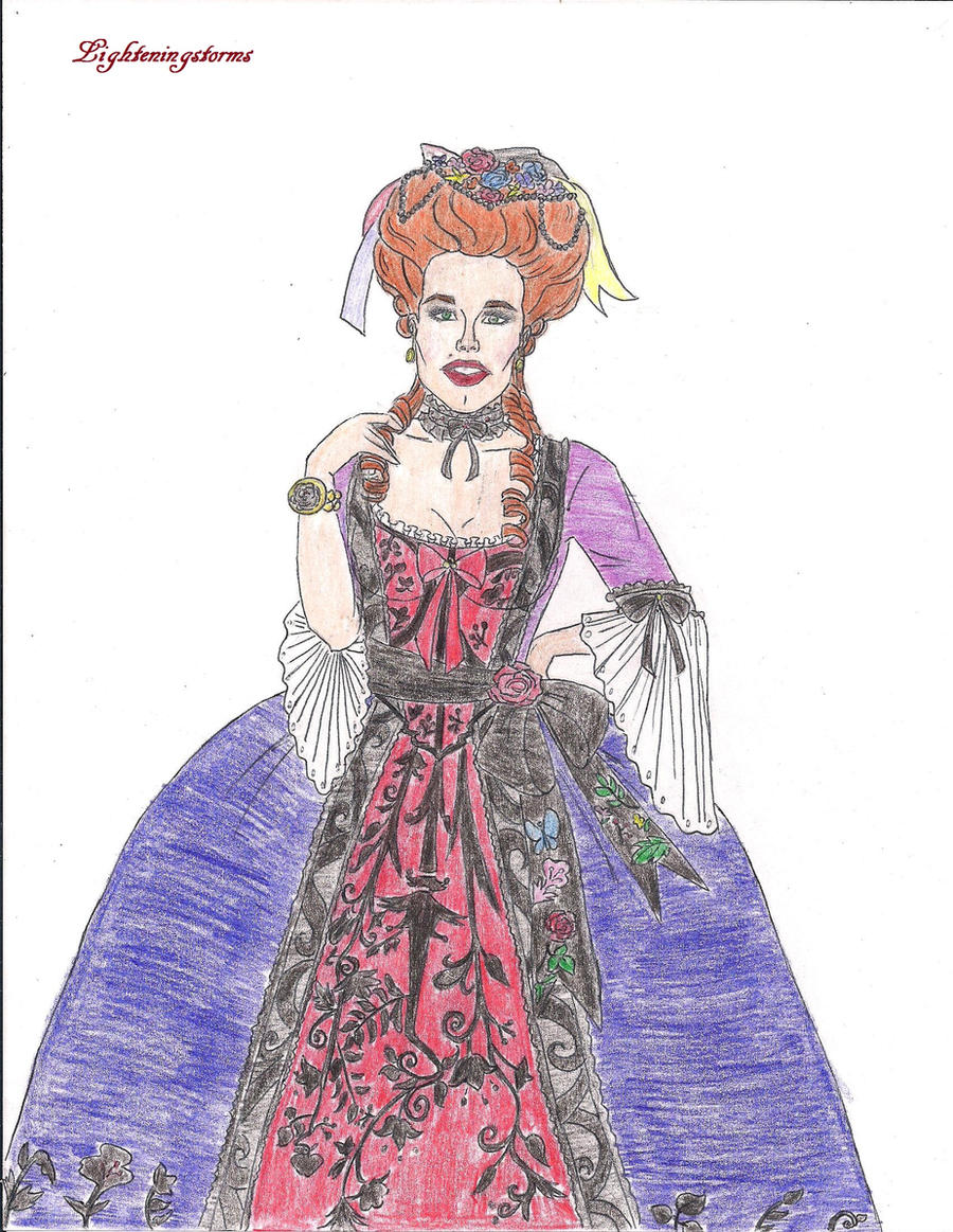18th Century Ball Gown 2 Color by lighteningstorms on DeviantArt