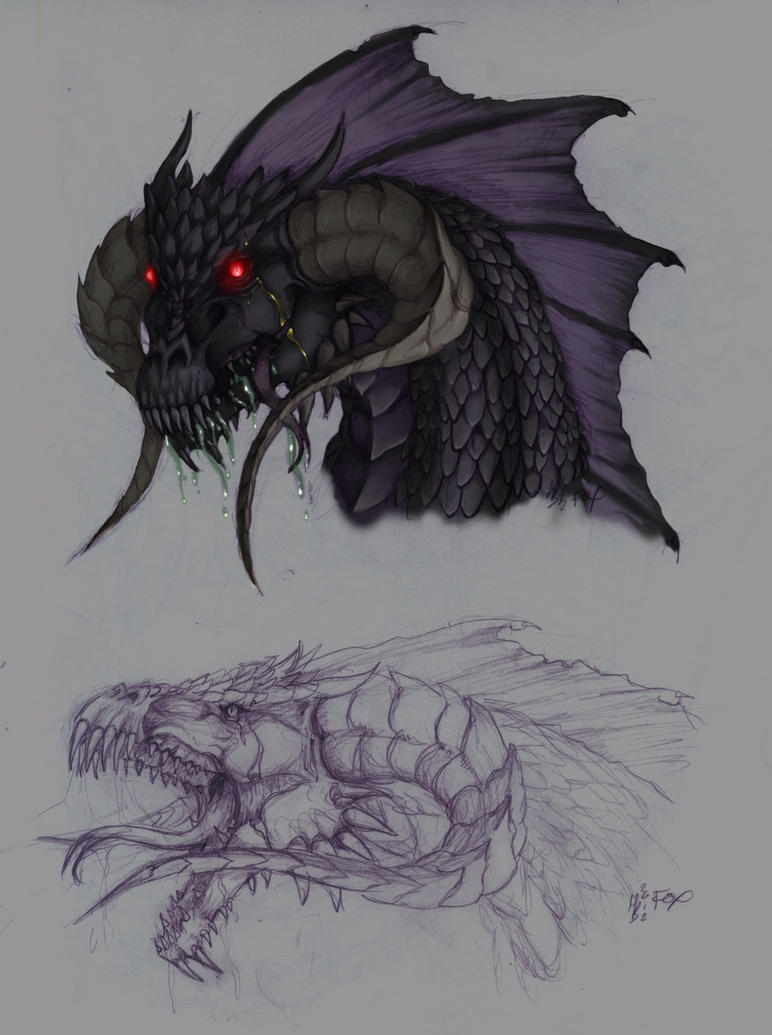 Black Dragon by BladeGunSniper