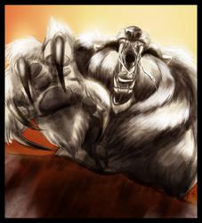 Bear Marshal RAGE by BladeGunSniper