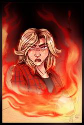 Angry Kyra by BladeGunSniper