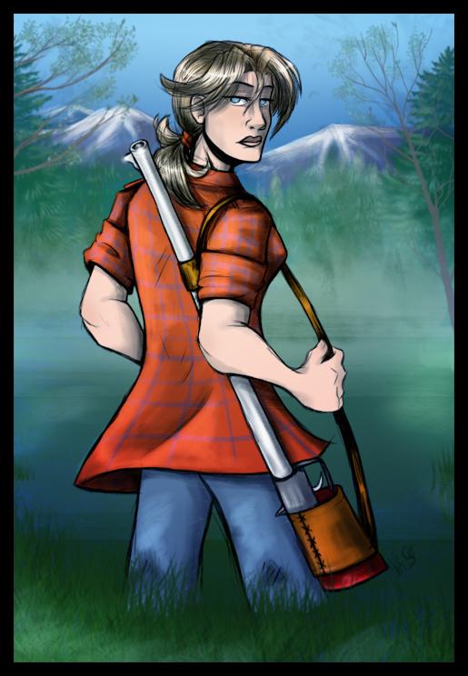 Kyra Hunting Time by BladeGunSniper