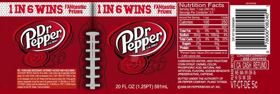 Dr Pepper Remake Label By Steel Harbinger91 On Deviantart