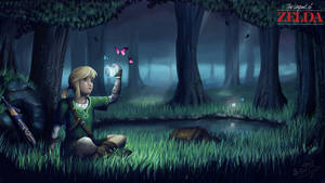 Zelda Lost Woods by leometroid