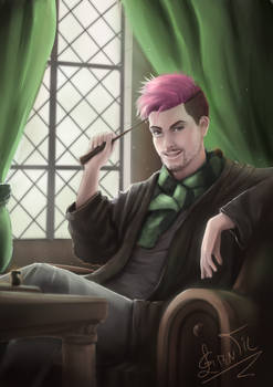 little pink in Slytherin