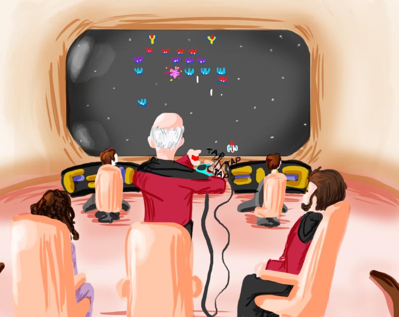Galaxian by Seamonkey-Sama