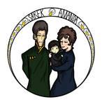 Amanda and Sarek by Seamonkey-Sama
