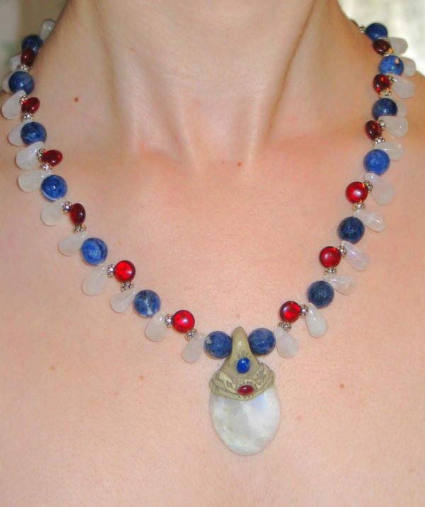 Red Blue Stone : Red white and blue stones by makeupgoddess on deviantart