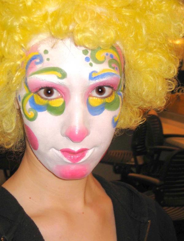 How to do clown makeup