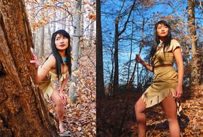 Andrea's Pocahontas Cosplay by MakeupGoddess