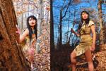 Andrea's Pocahontas Cosplay