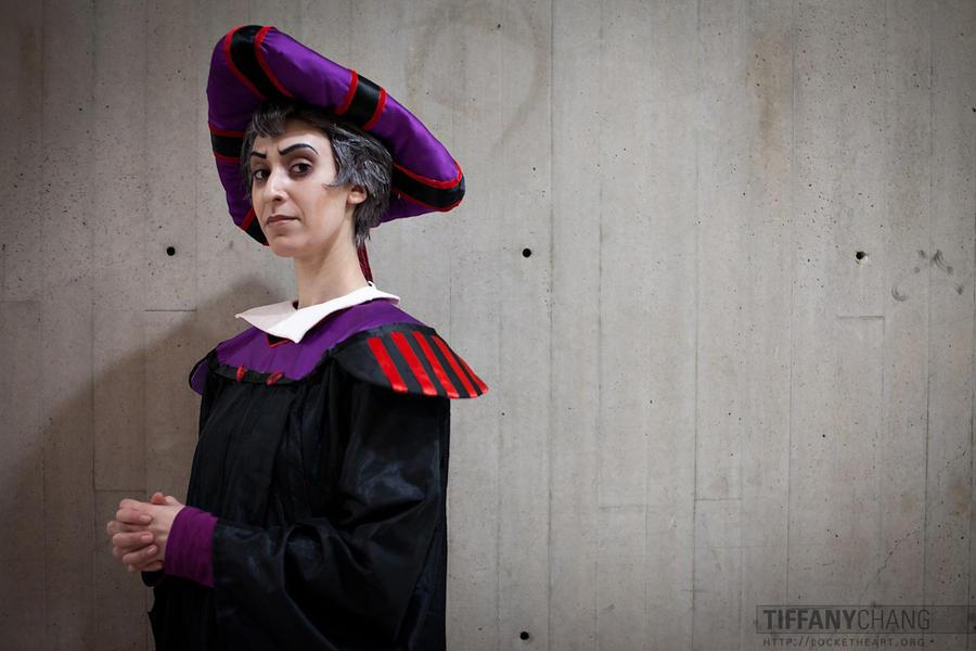 Frollo Cosplay 1 by MakeupGoddess
