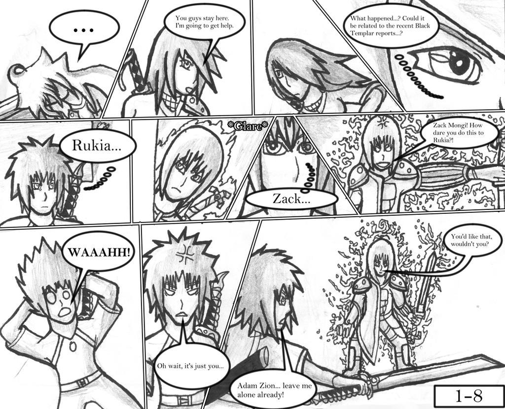 Doragon Konpaku: Book 1: Terrium: Page 1-8 by AxisofDestruction
