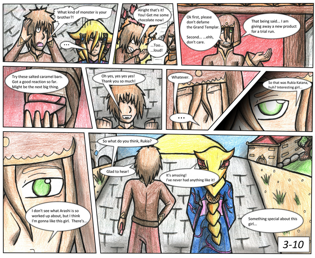 Doragon Konpaku: Book 1: Terrium: Page 3-10 by AxisofDestruction