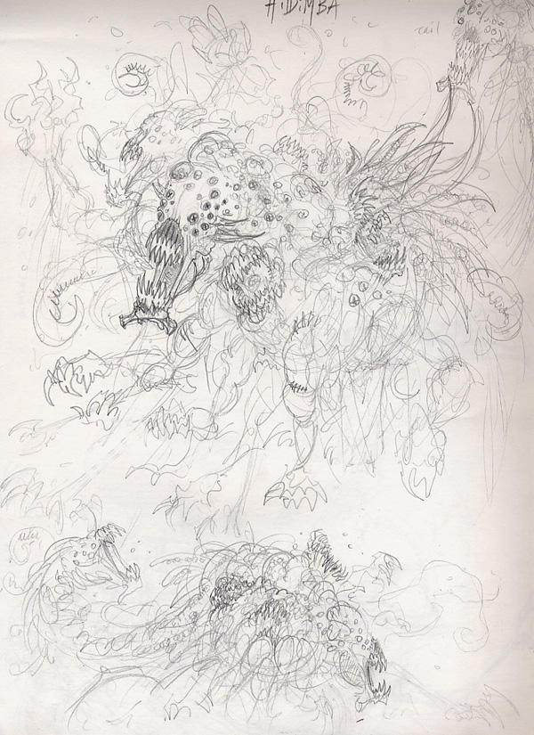 Hidimba -messy version- by Spinmenson