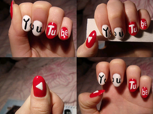 You tube by lovely nail art on deviantart you tube by lovely nail art prinsesfo Choice Image